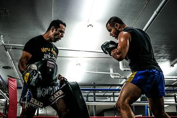 Kru Ash , Muay Thai Coach