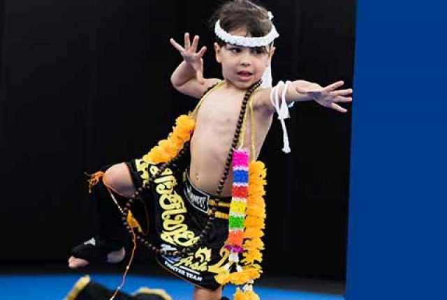 Muay Thai martial arts kids