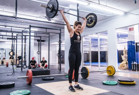 Woman Crossfit montreal